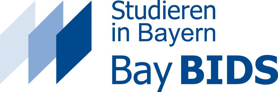 BayBIDS-Logo, blau mit Rauten